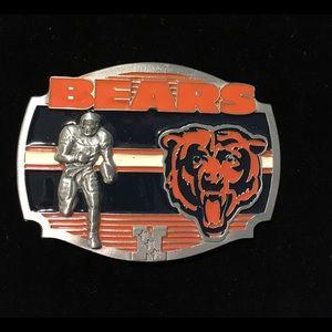 Chicago Bears Belt Buckle.